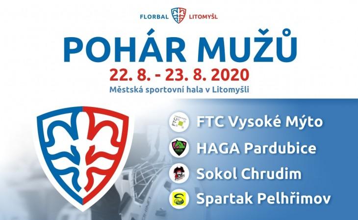 Pohár Českého florbalu mužů 2021 v Litomyšli.